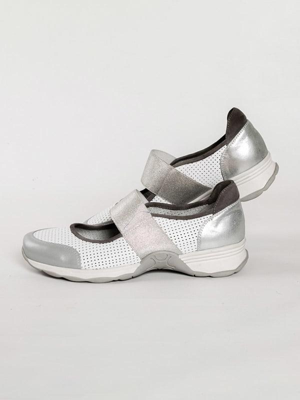 Туфли бело-серые   4918563   фото 2