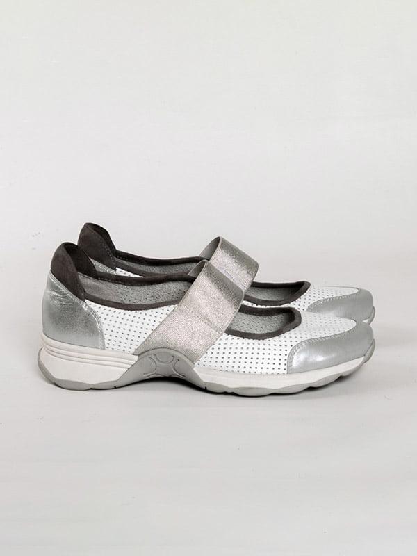 Туфли бело-серые   4918563   фото 4