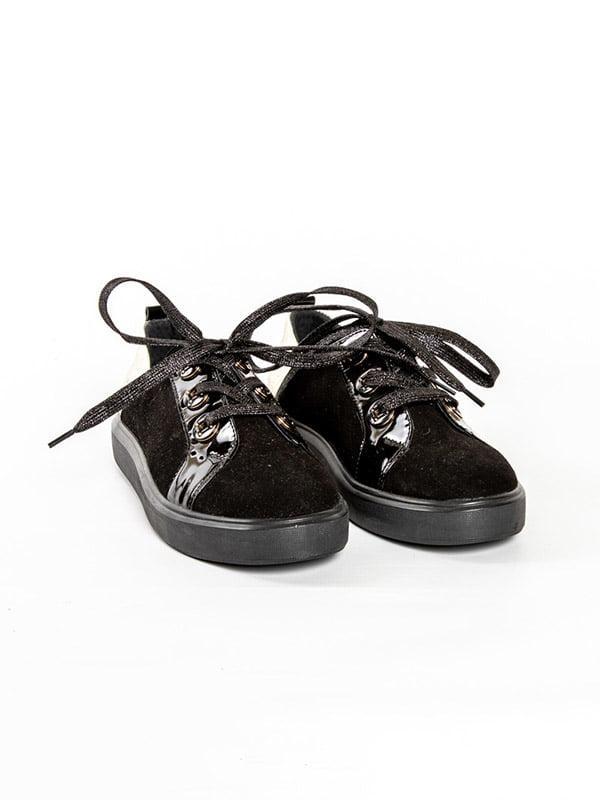 Кеды черные | 4918572 | фото 2