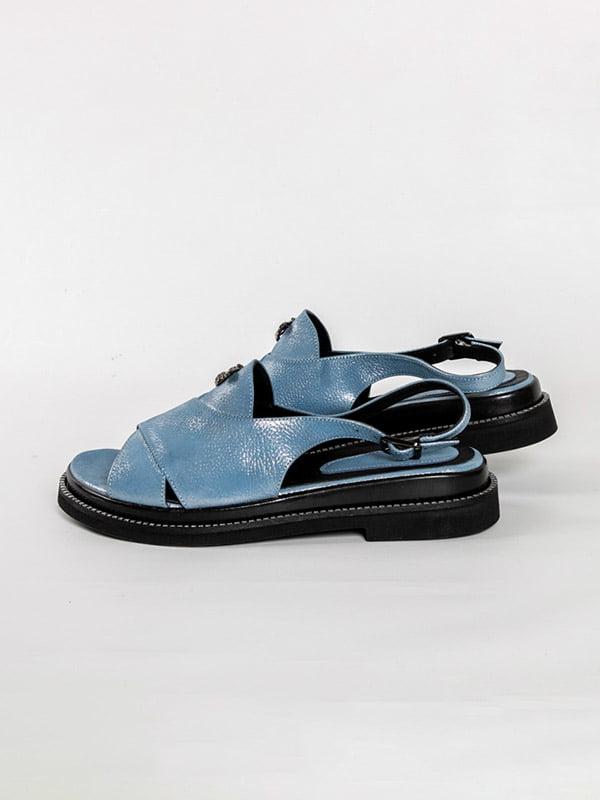Босоножки голубые   4918575   фото 2