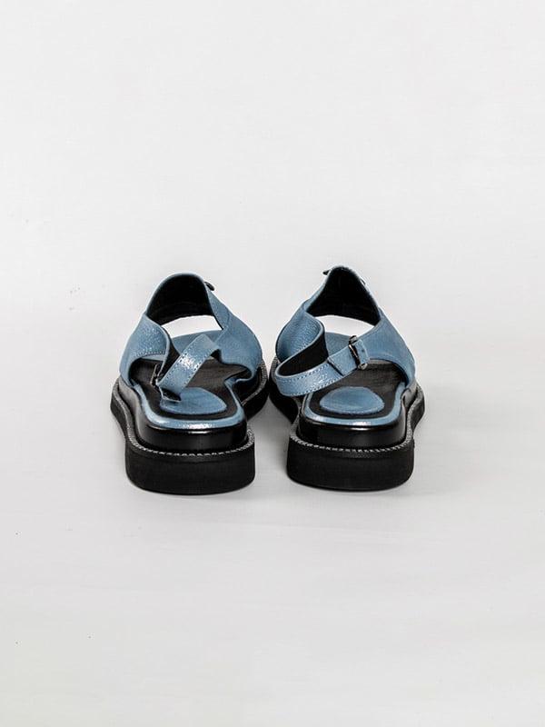 Босоножки голубые   4918575   фото 3