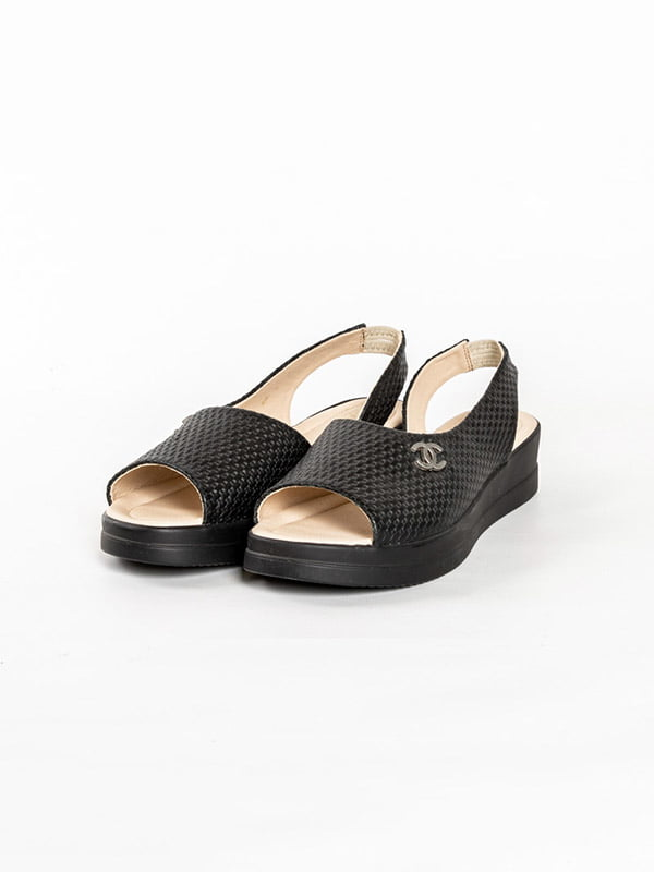 Босоножки черные | 4918579