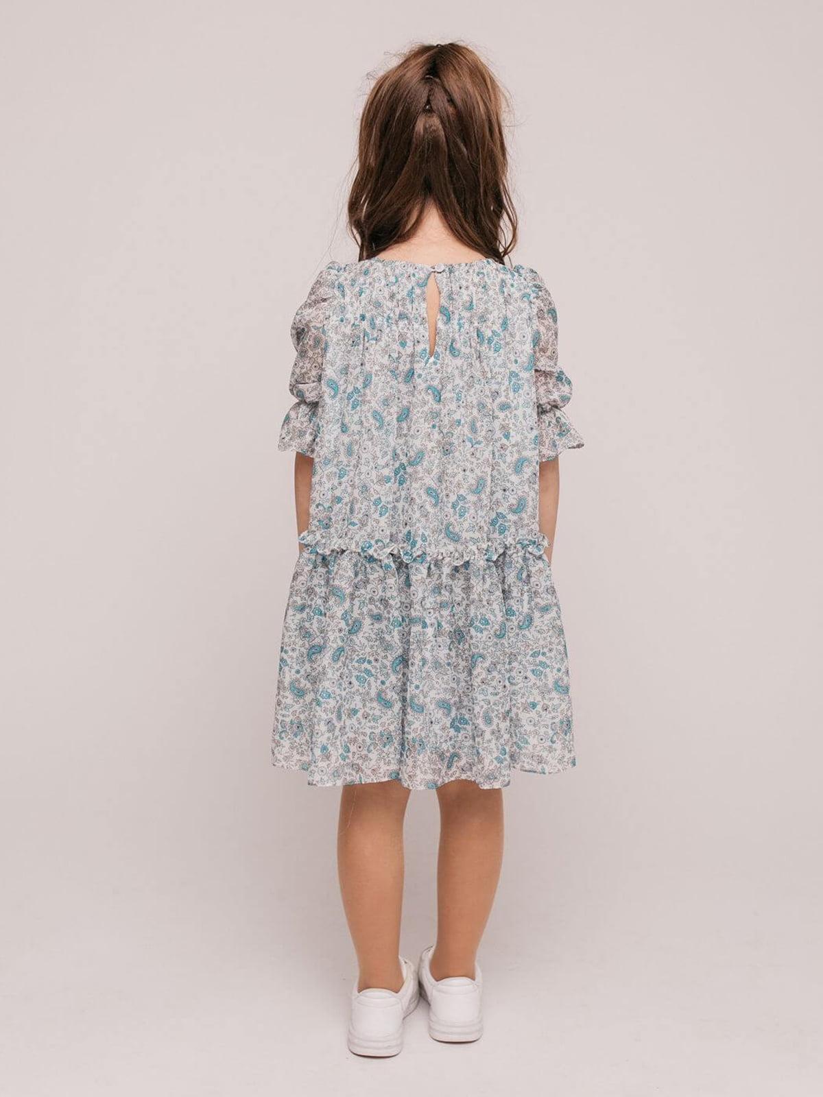 Платье в цветочный принт | 4918884