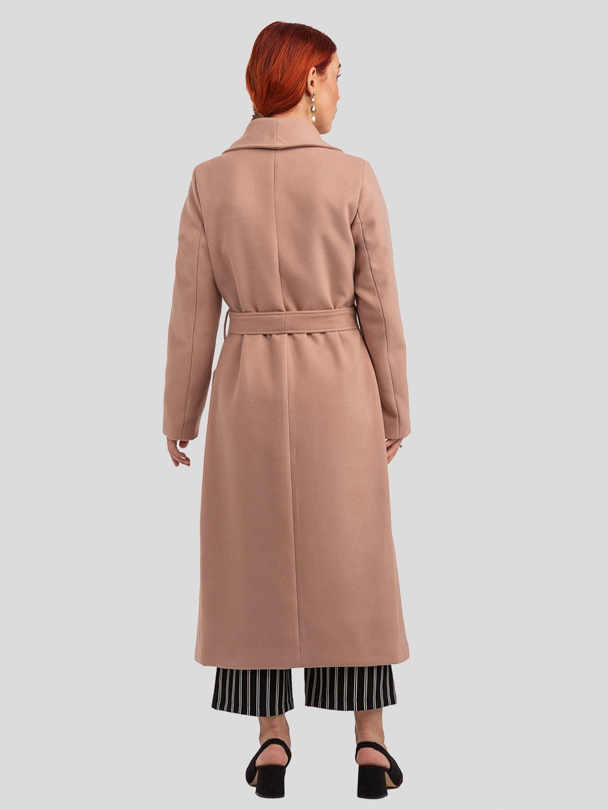 Пальто цвета пудры   4918993   фото 3