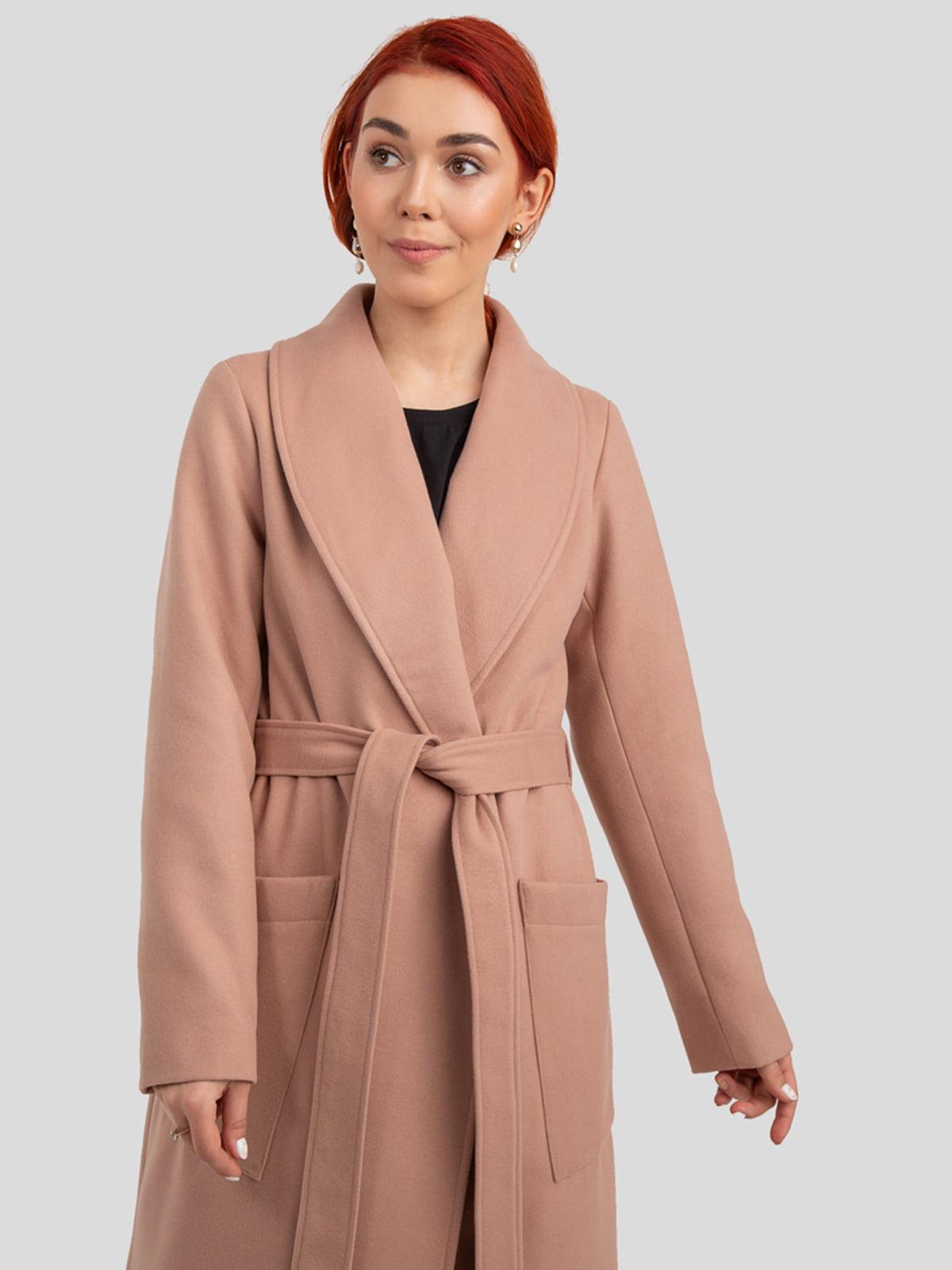 Пальто цвета пудры   4918993   фото 6