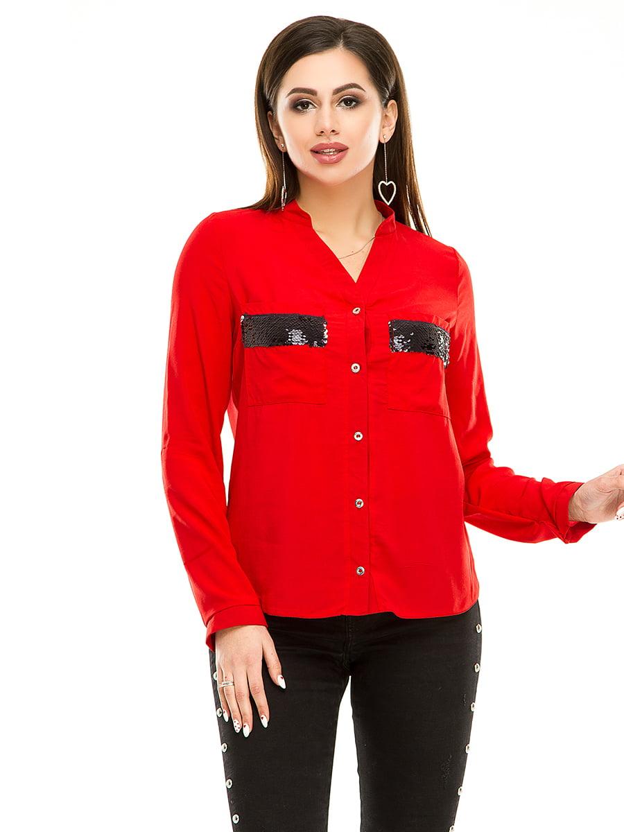 Рубашка красная | 4920213