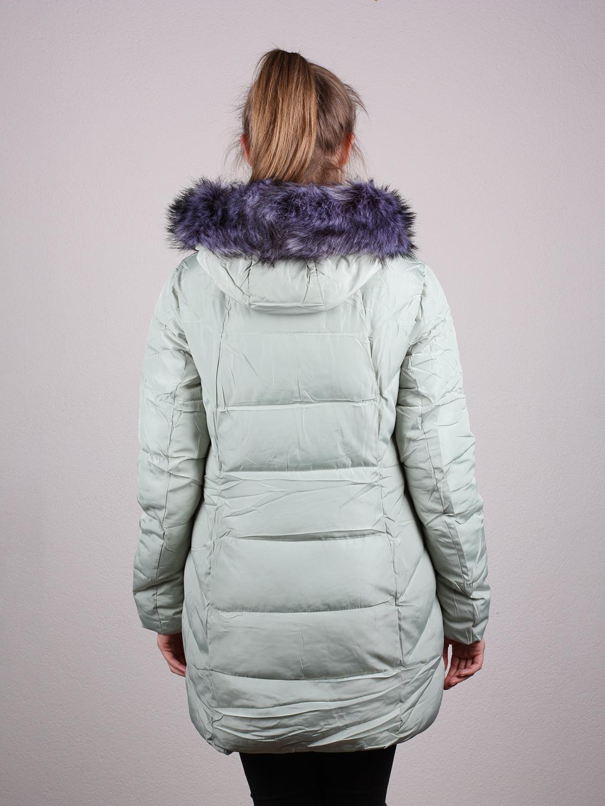 Пальто фисташкового цвета | 4690641 | фото 9