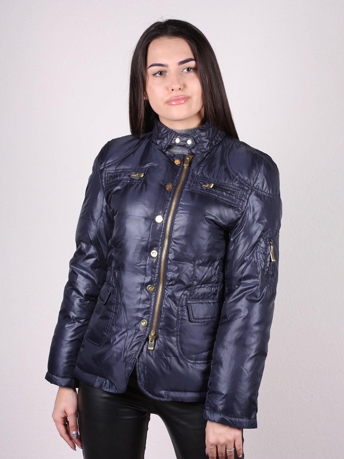 Куртка темно-синяя | 4770581 | фото 8