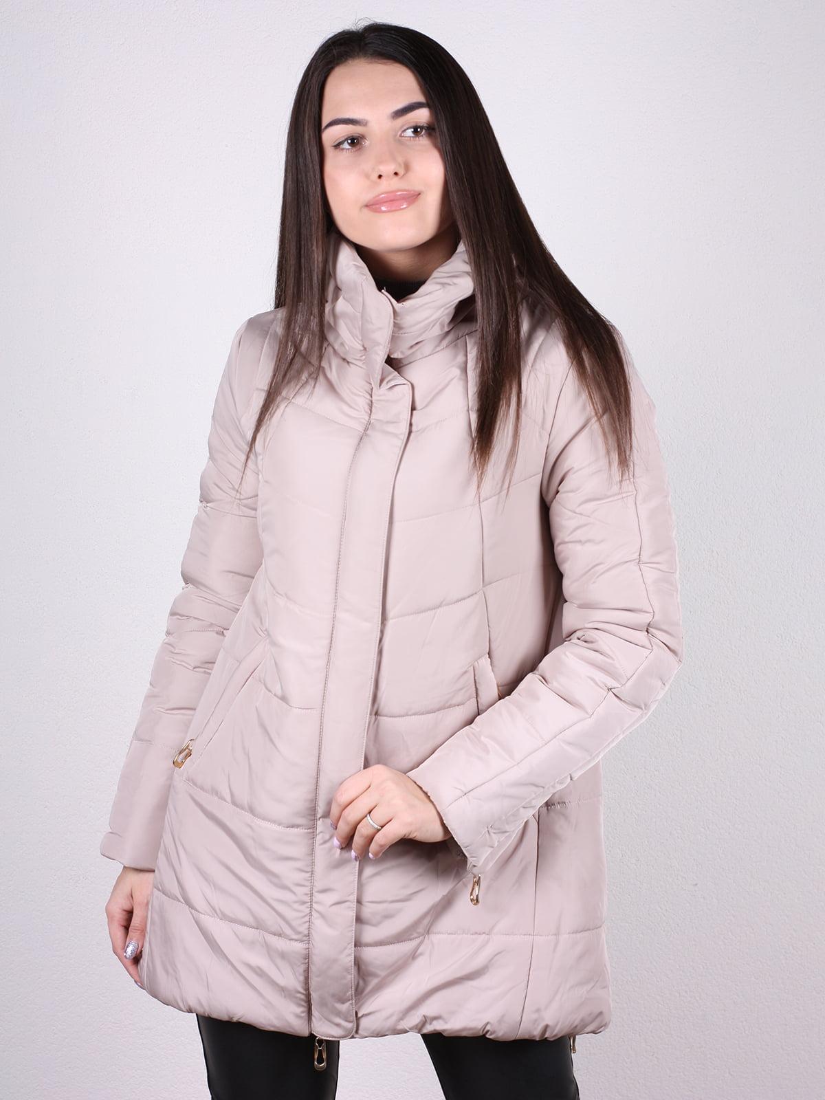 Куртка бежевая | 4922389