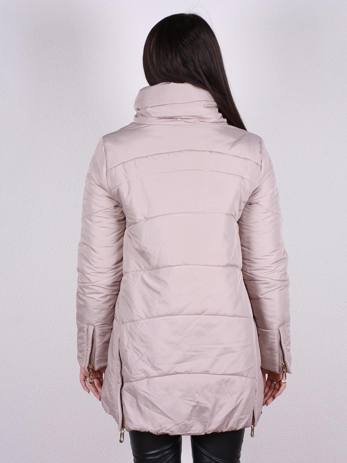 Куртка бежевая | 4922389 | фото 3
