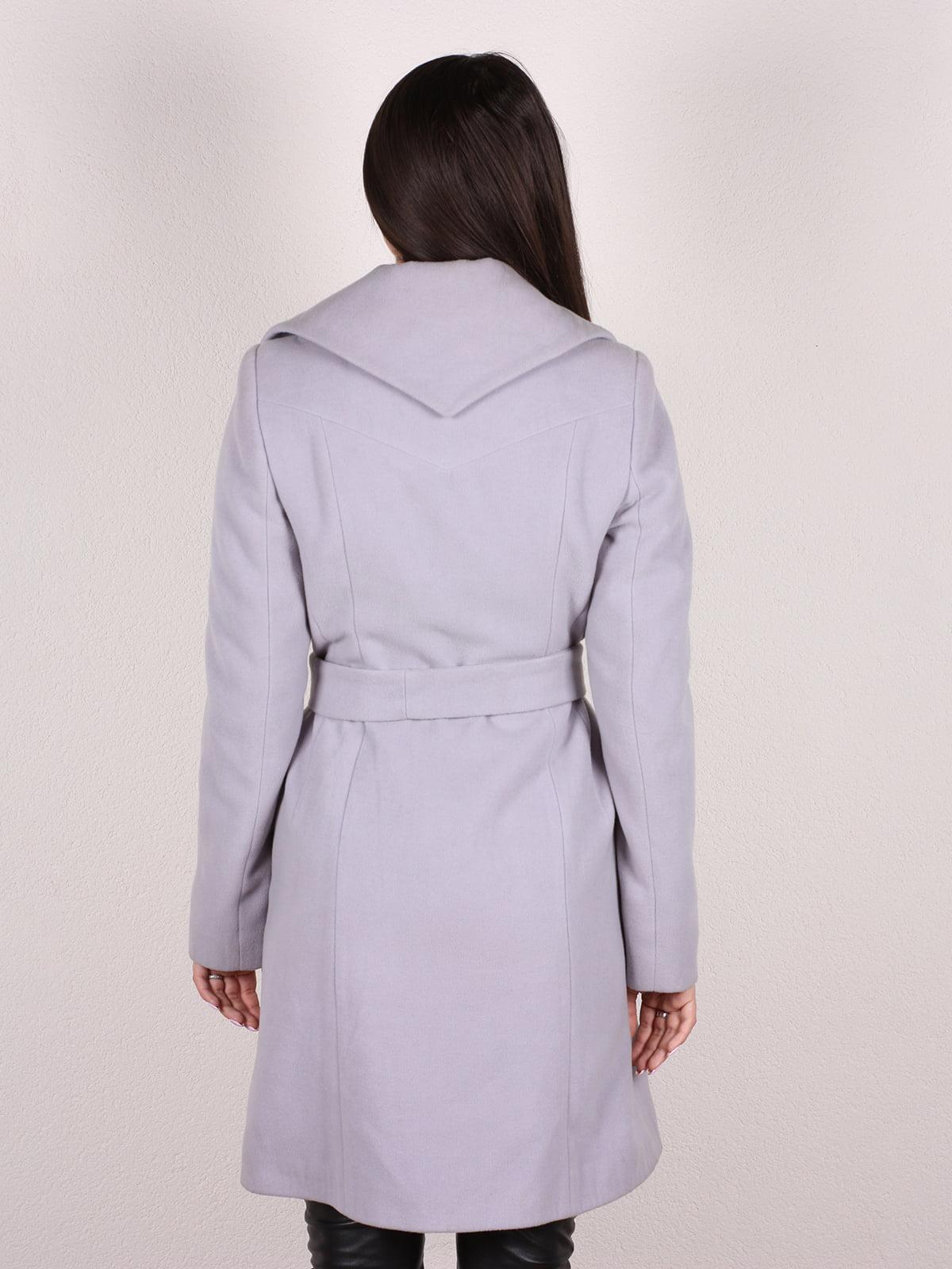 Пальто серое   4922396   фото 3