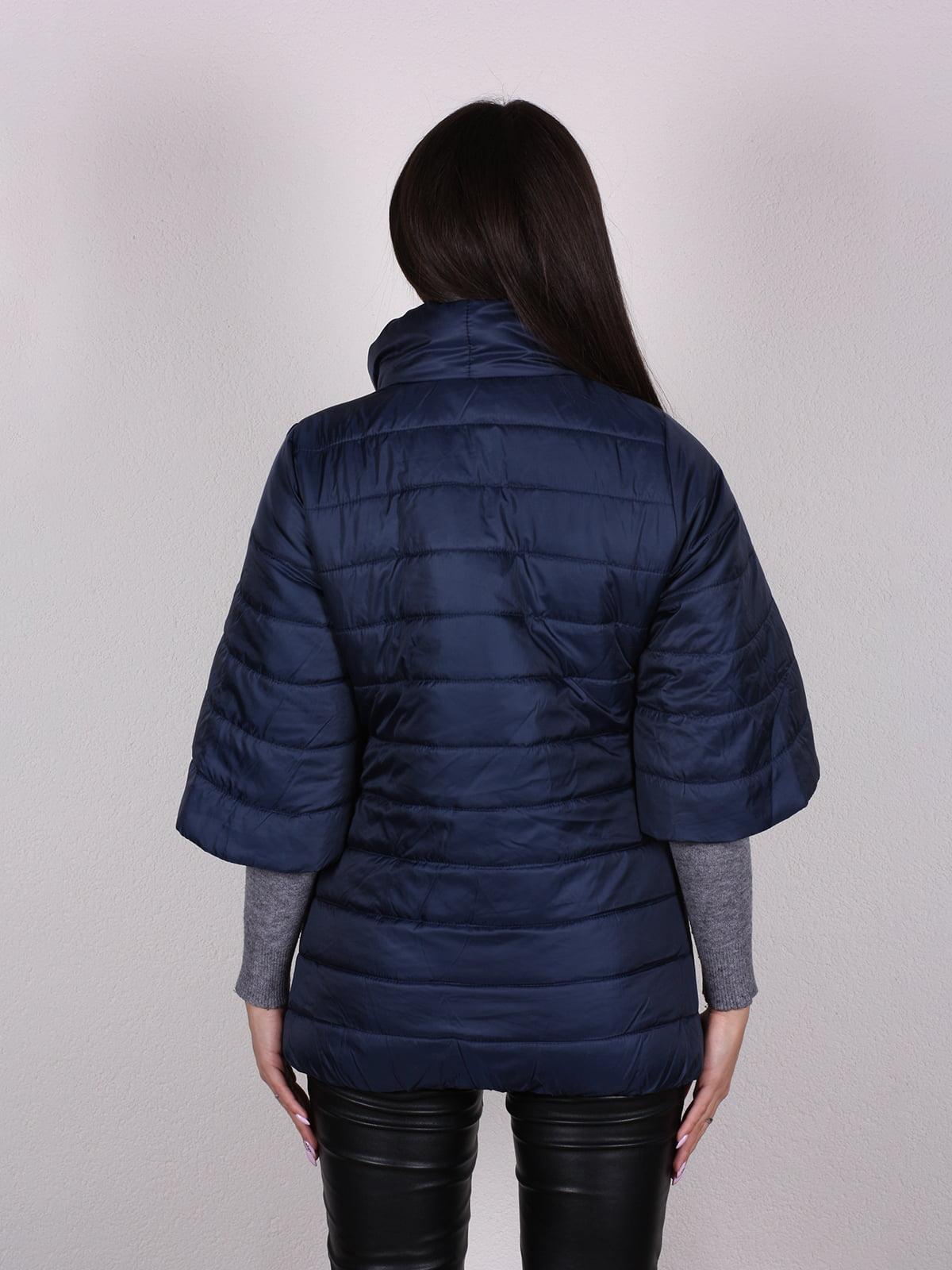 Куртка темно-синяя | 4922446 | фото 3