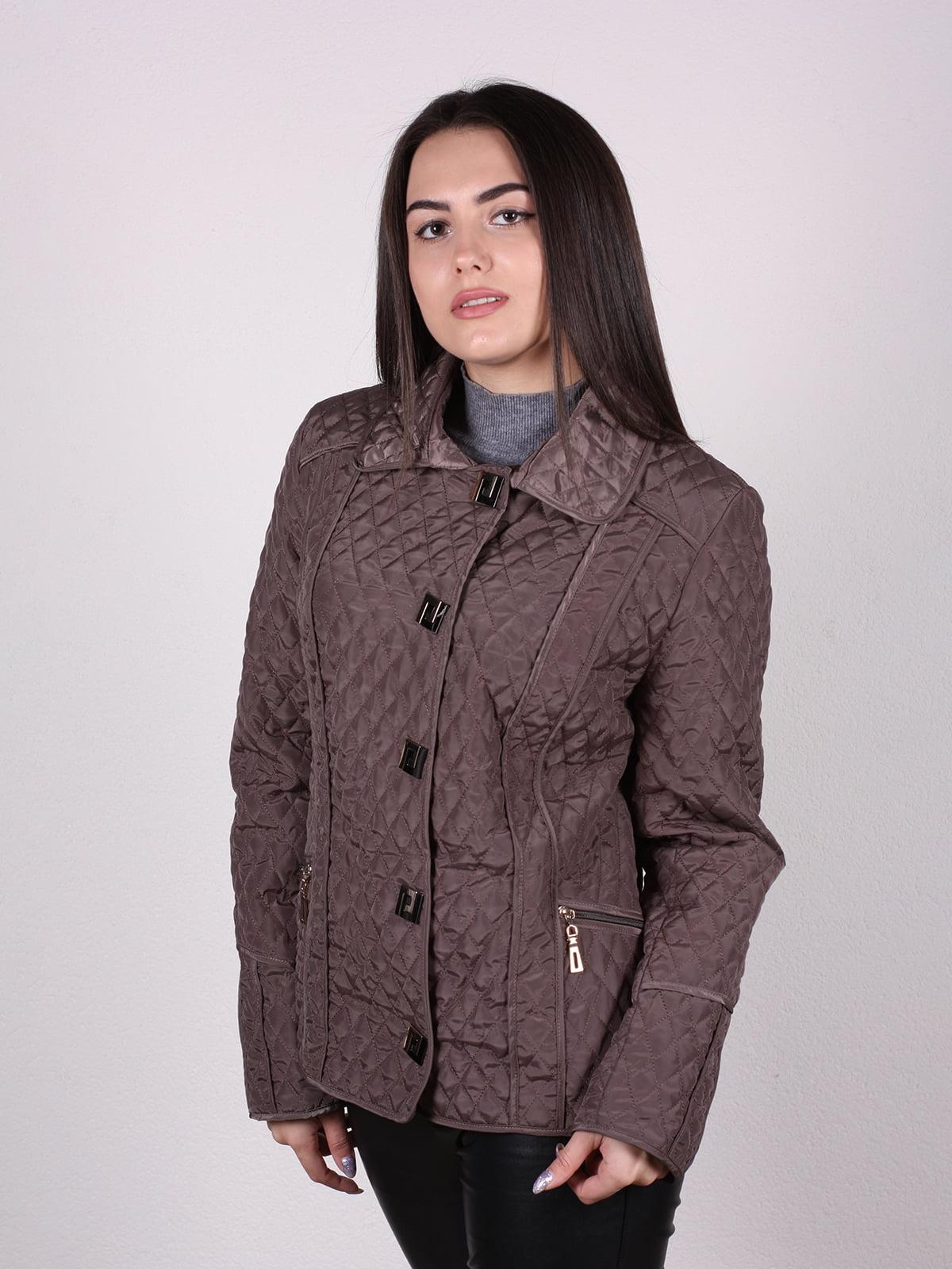 Куртка кофейного цвета | 4922447