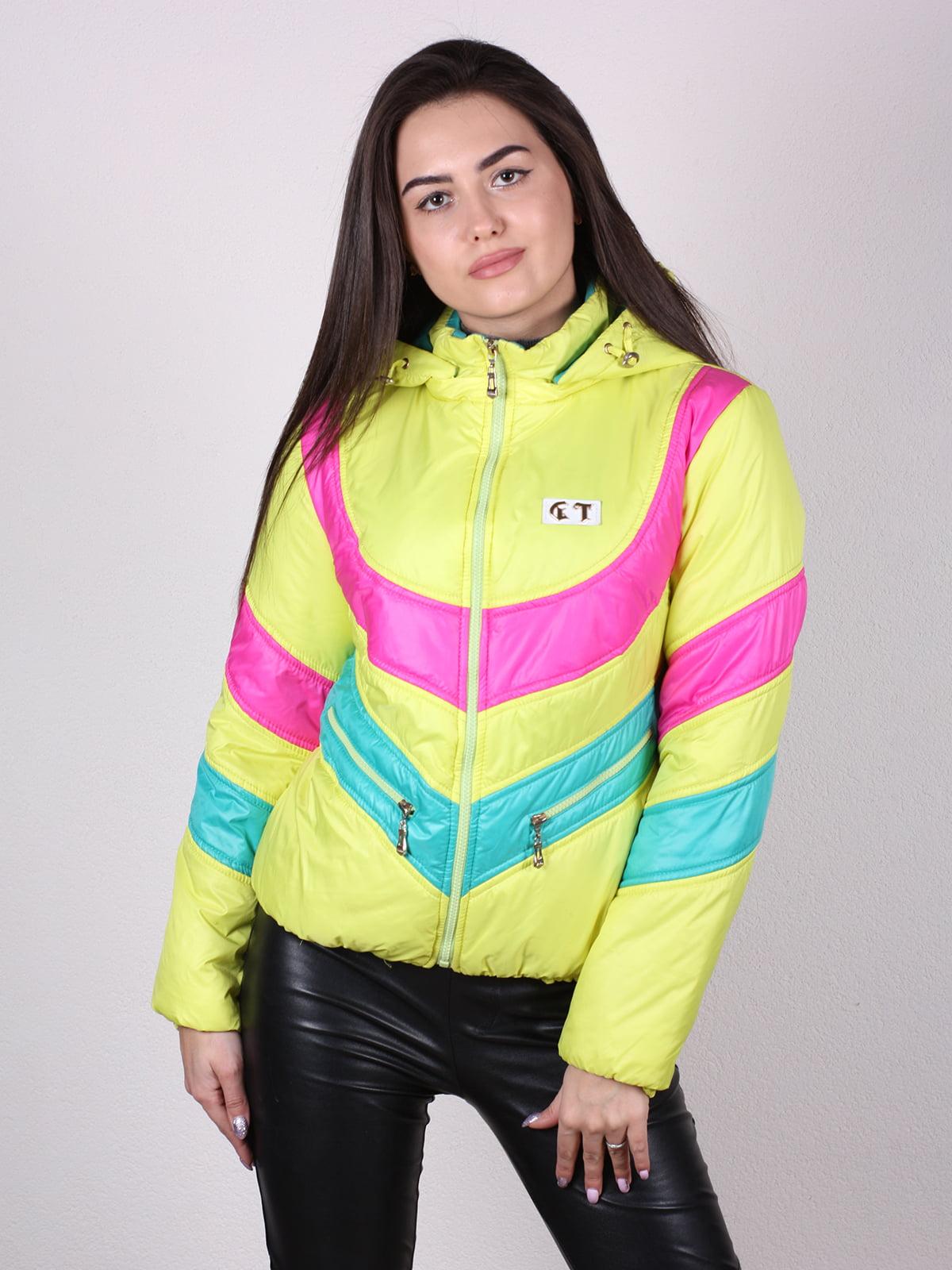 Куртка разноцветная   4922449