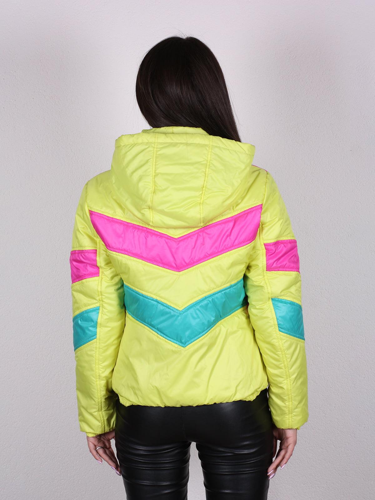 Куртка разноцветная   4922449   фото 3