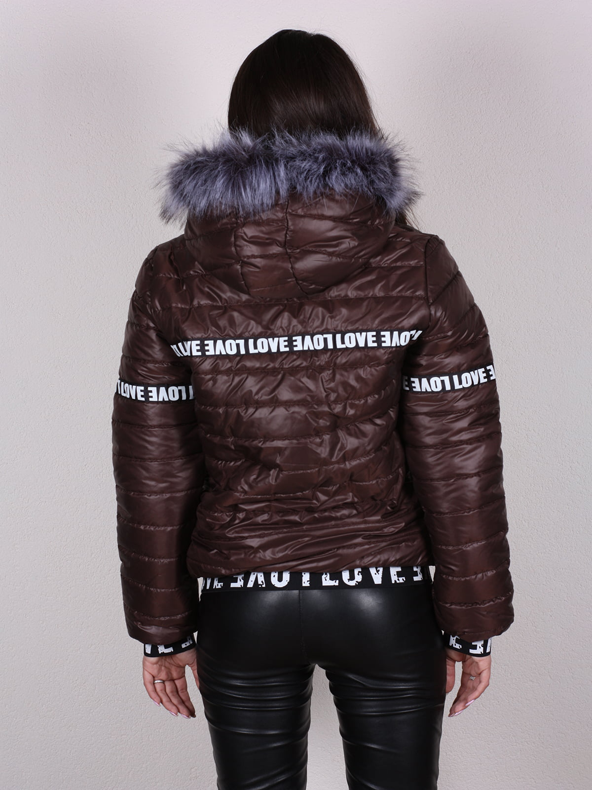 Куртка шоколадного цвета | 4922468 | фото 4