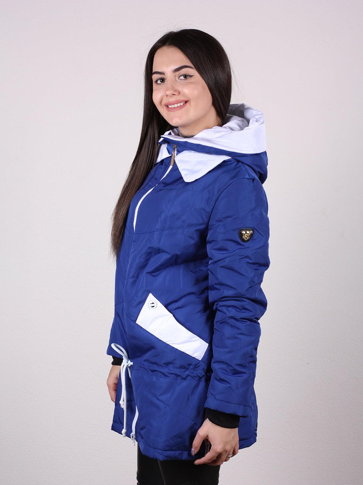 Куртка синяя   4922470   фото 3