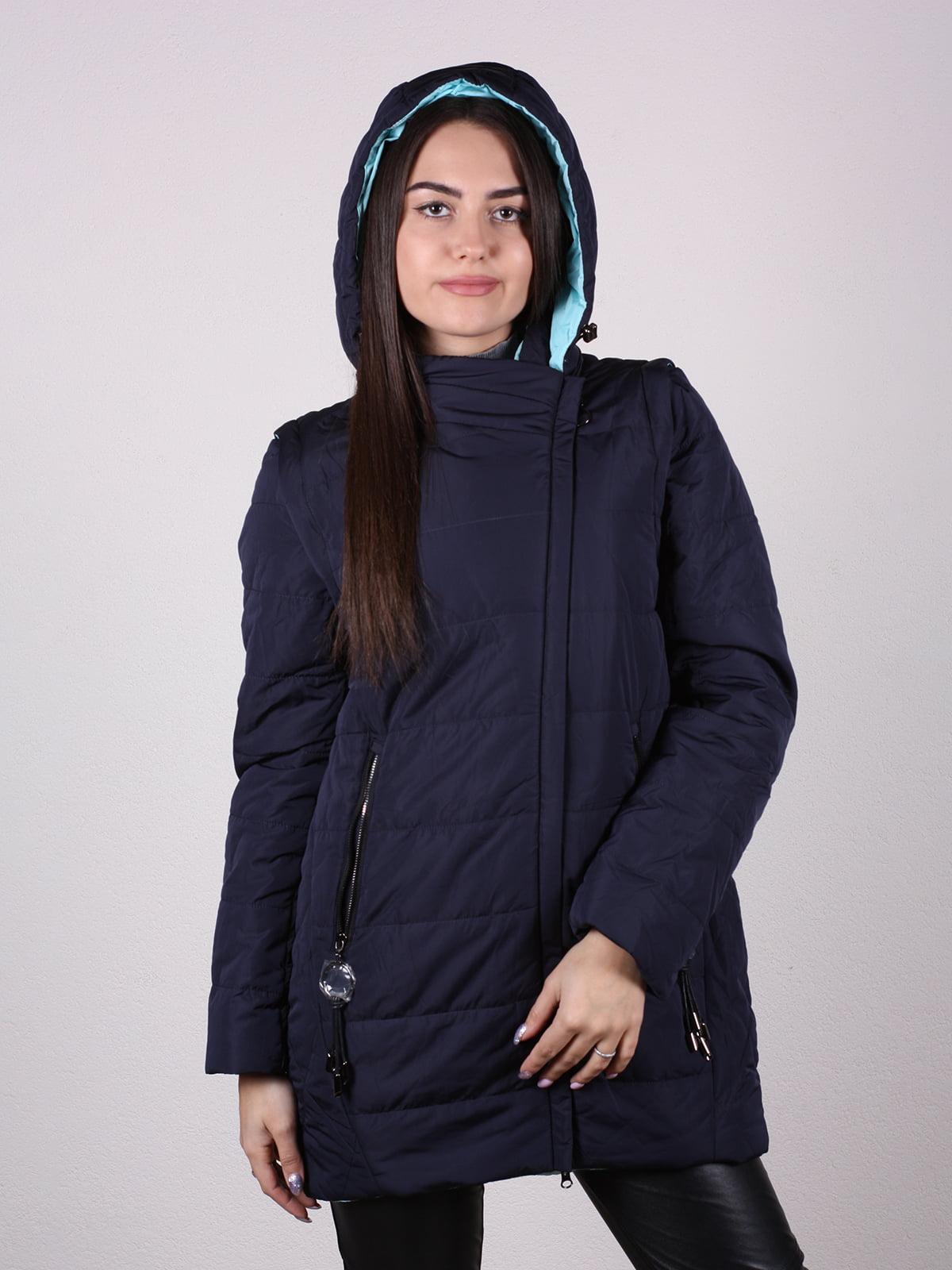 Куртка темно-синяя   4922471   фото 2