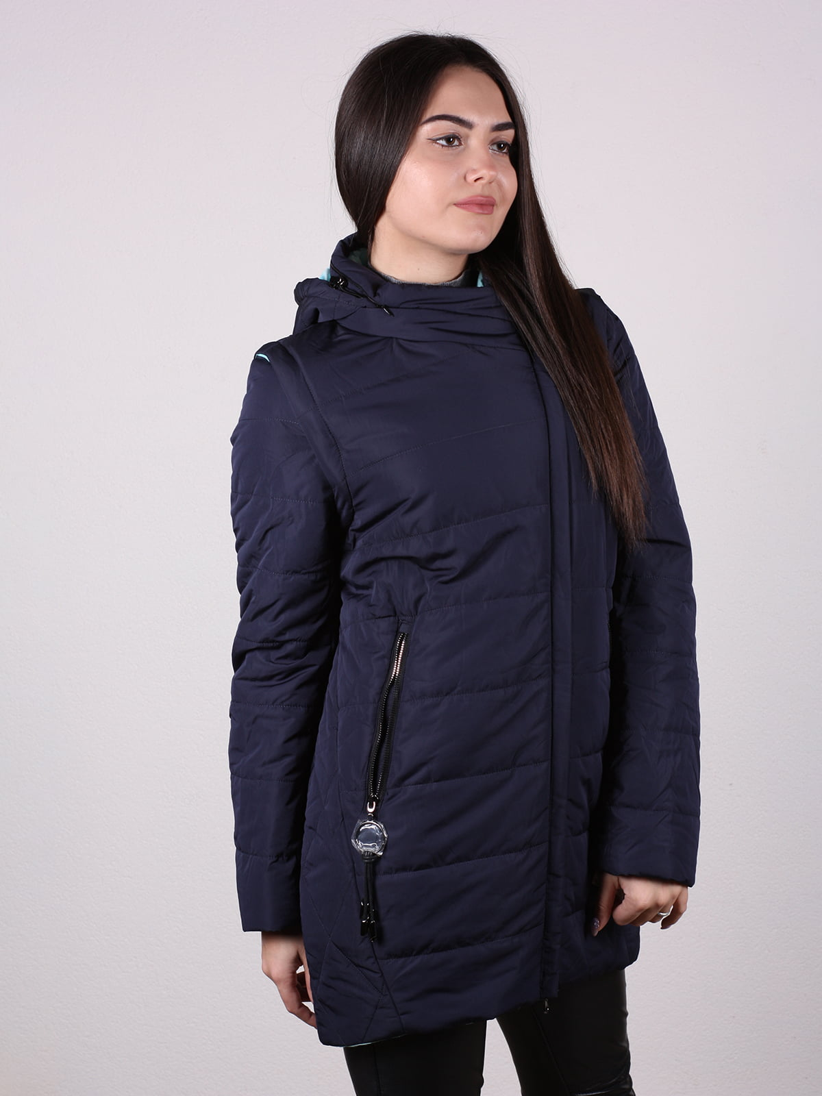 Куртка темно-синяя   4922471   фото 3