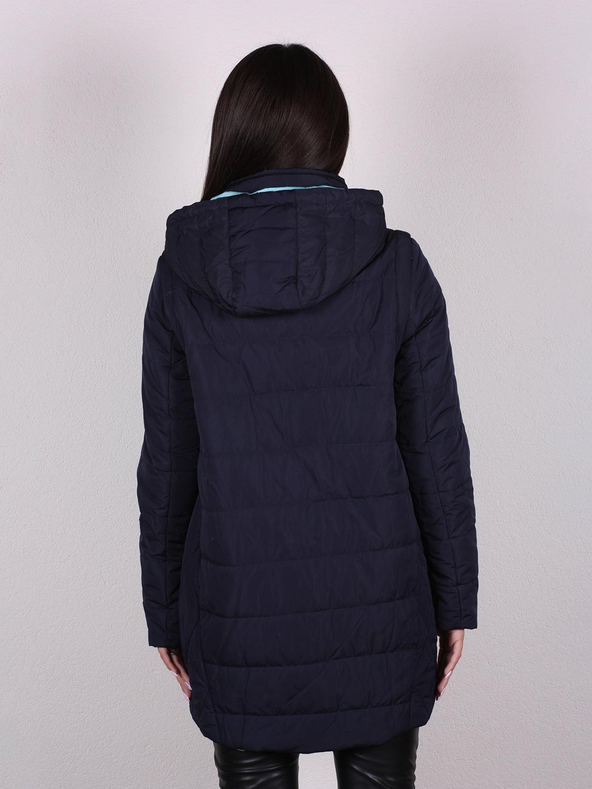 Куртка темно-синяя   4922471   фото 4