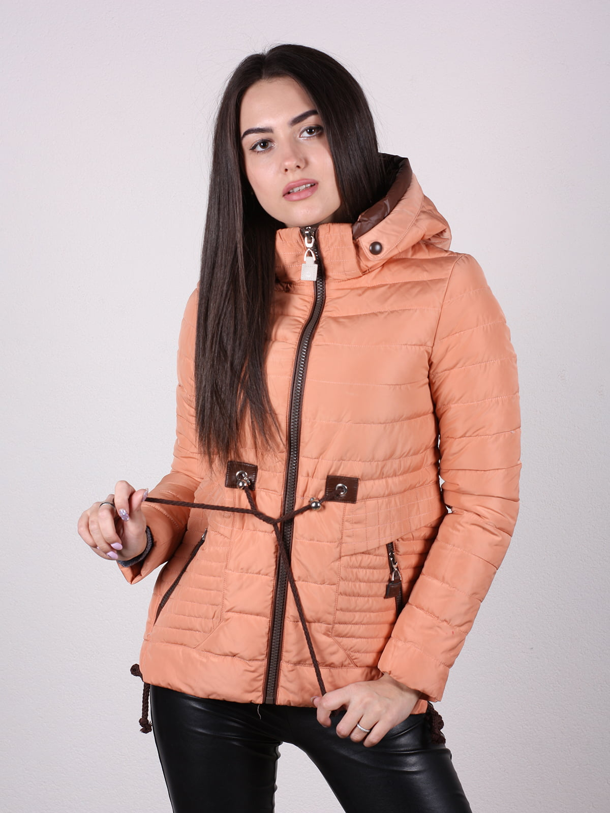 Куртка терракотового цвета | 4922473