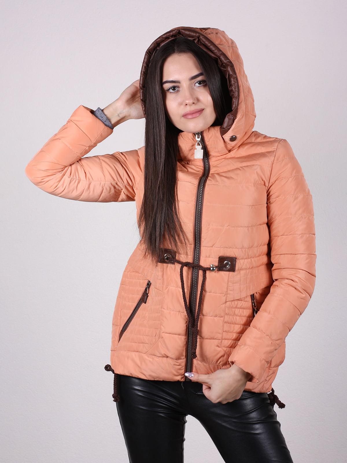 Куртка терракотового цвета | 4922473 | фото 2