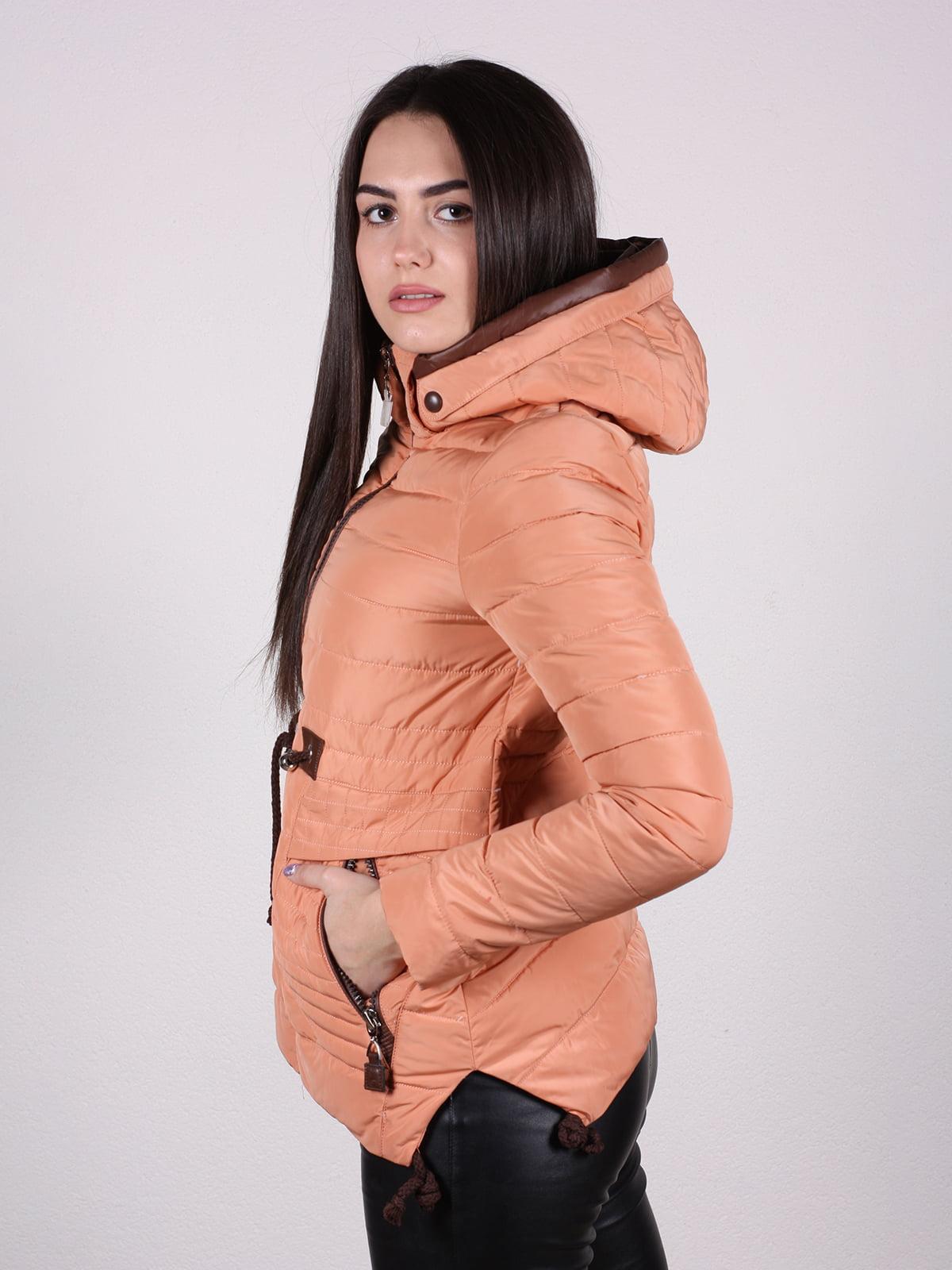 Куртка терракотового цвета | 4922473 | фото 3