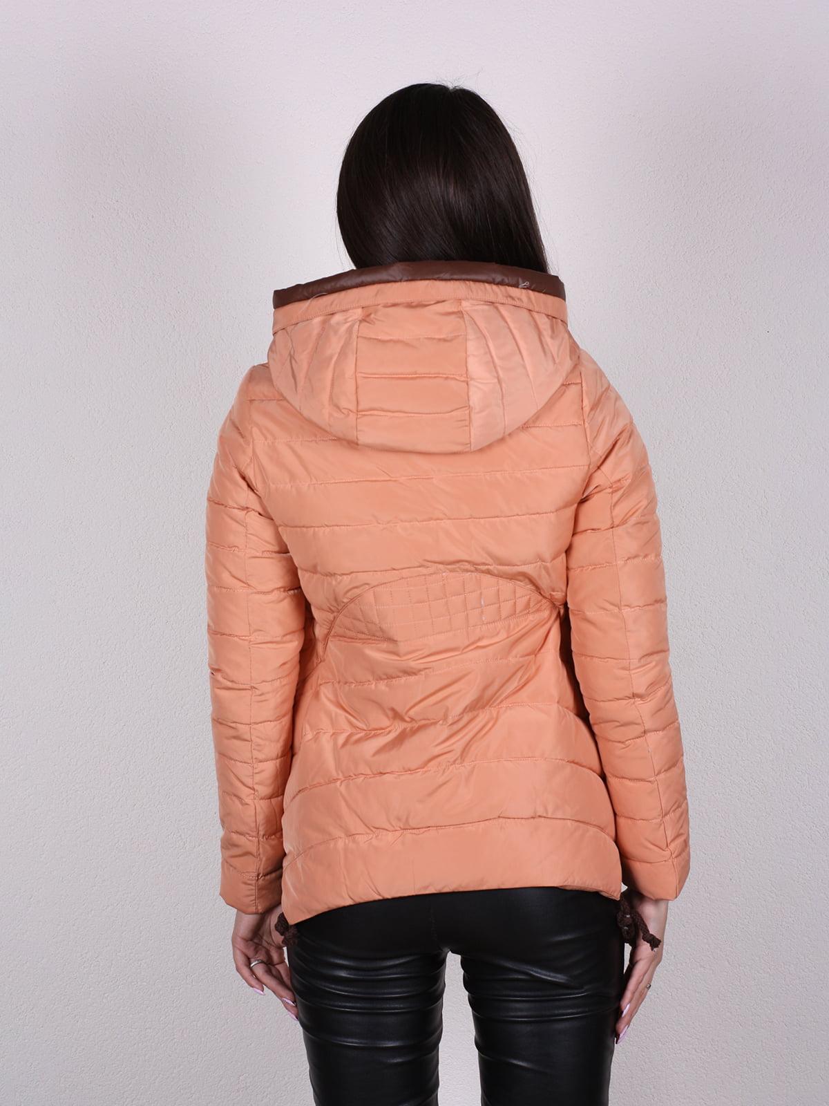 Куртка терракотового цвета | 4922473 | фото 4