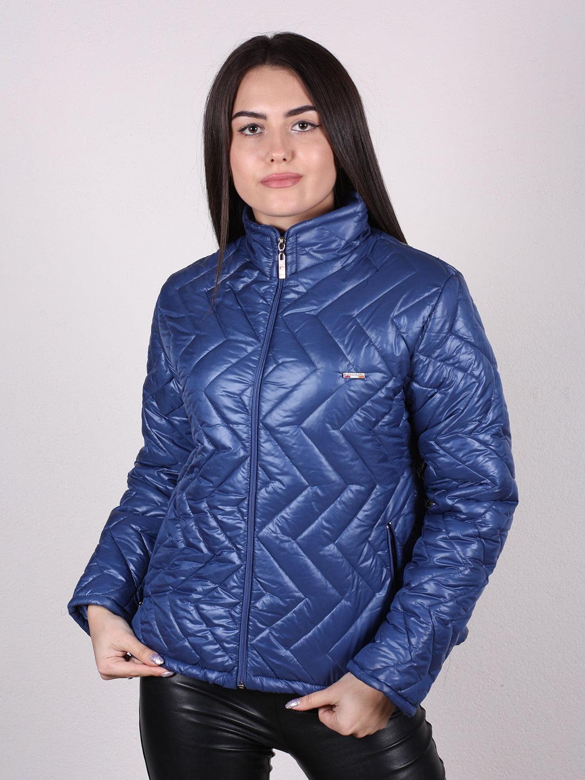 Куртка синяя | 4922479 | фото 3