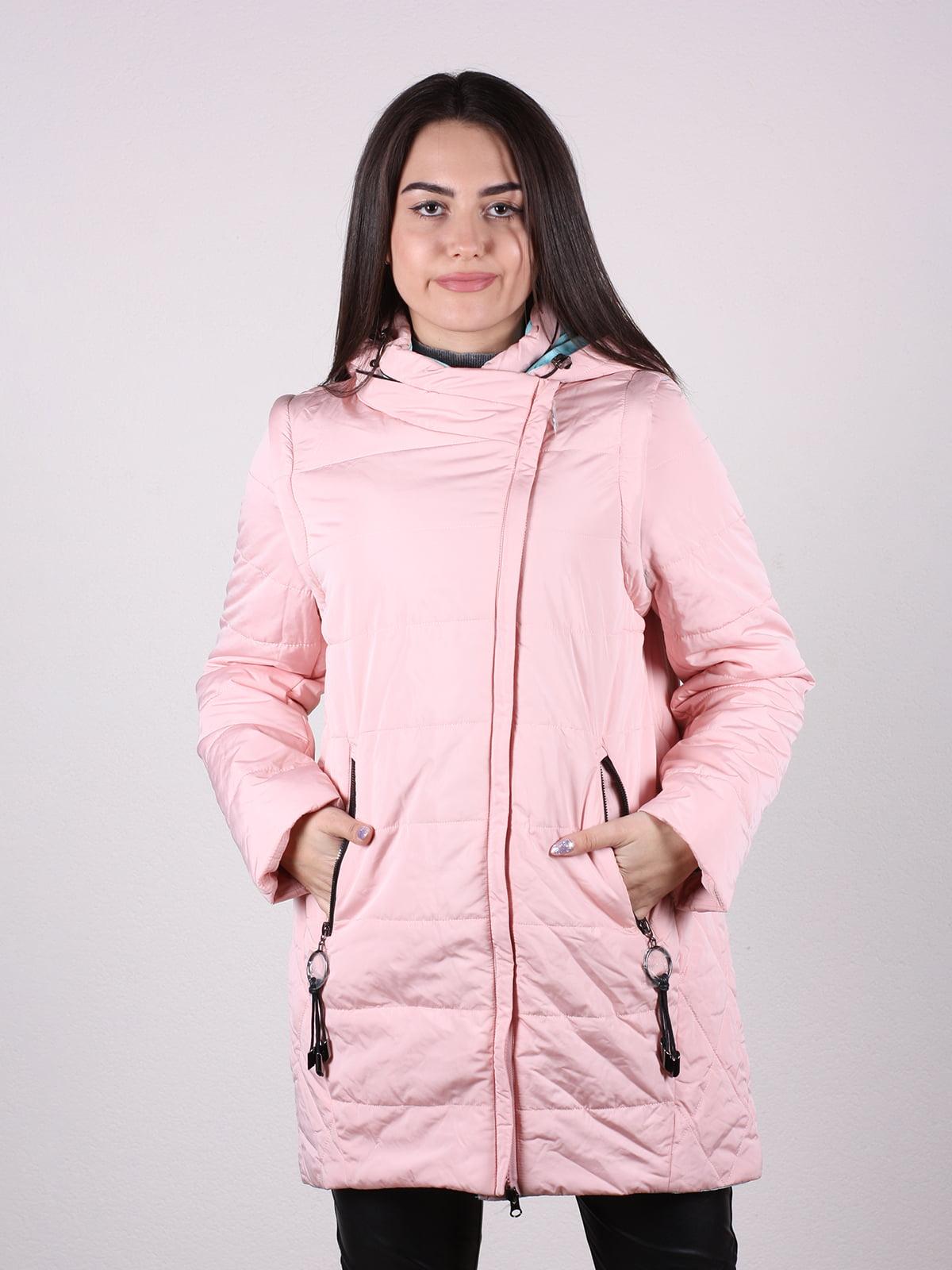 Куртка цвета пудры | 4922486