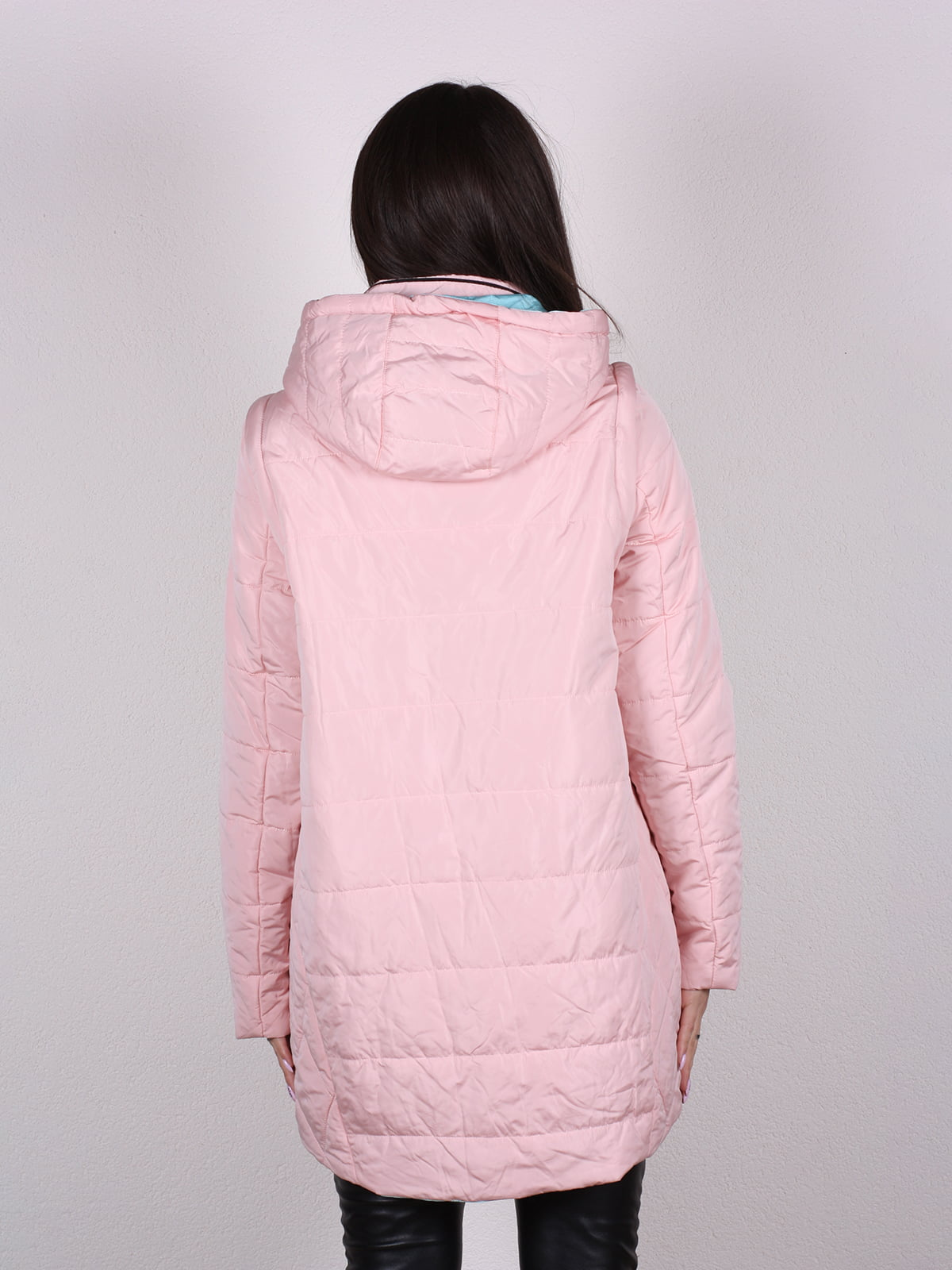 Куртка цвета пудры   4922486   фото 4