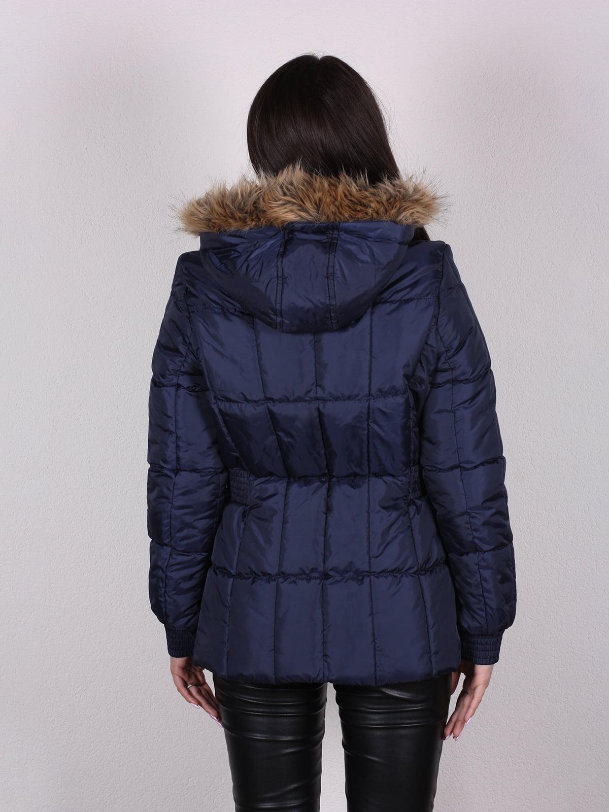 Куртка темно-синяя   4922487   фото 4
