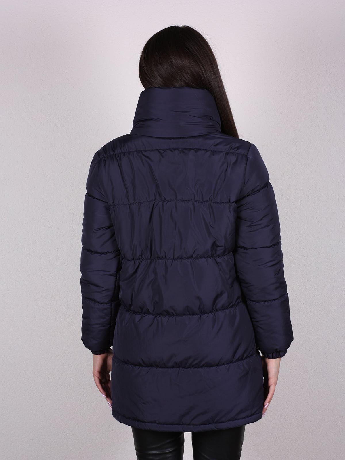 Куртка темно-синяя   4922489   фото 3