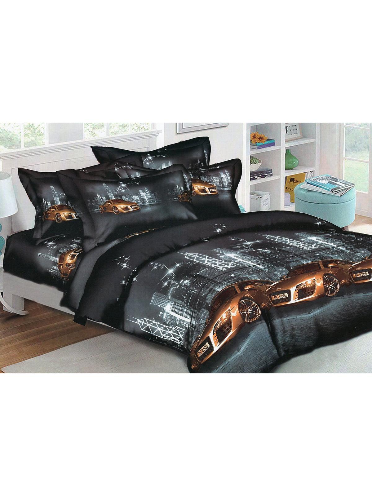 Комплект постельного белья двуспальный | 4923658