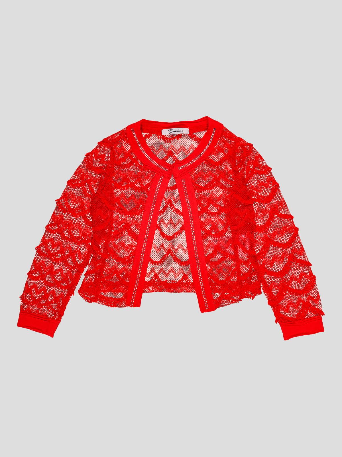 Кофта червона | 4781417