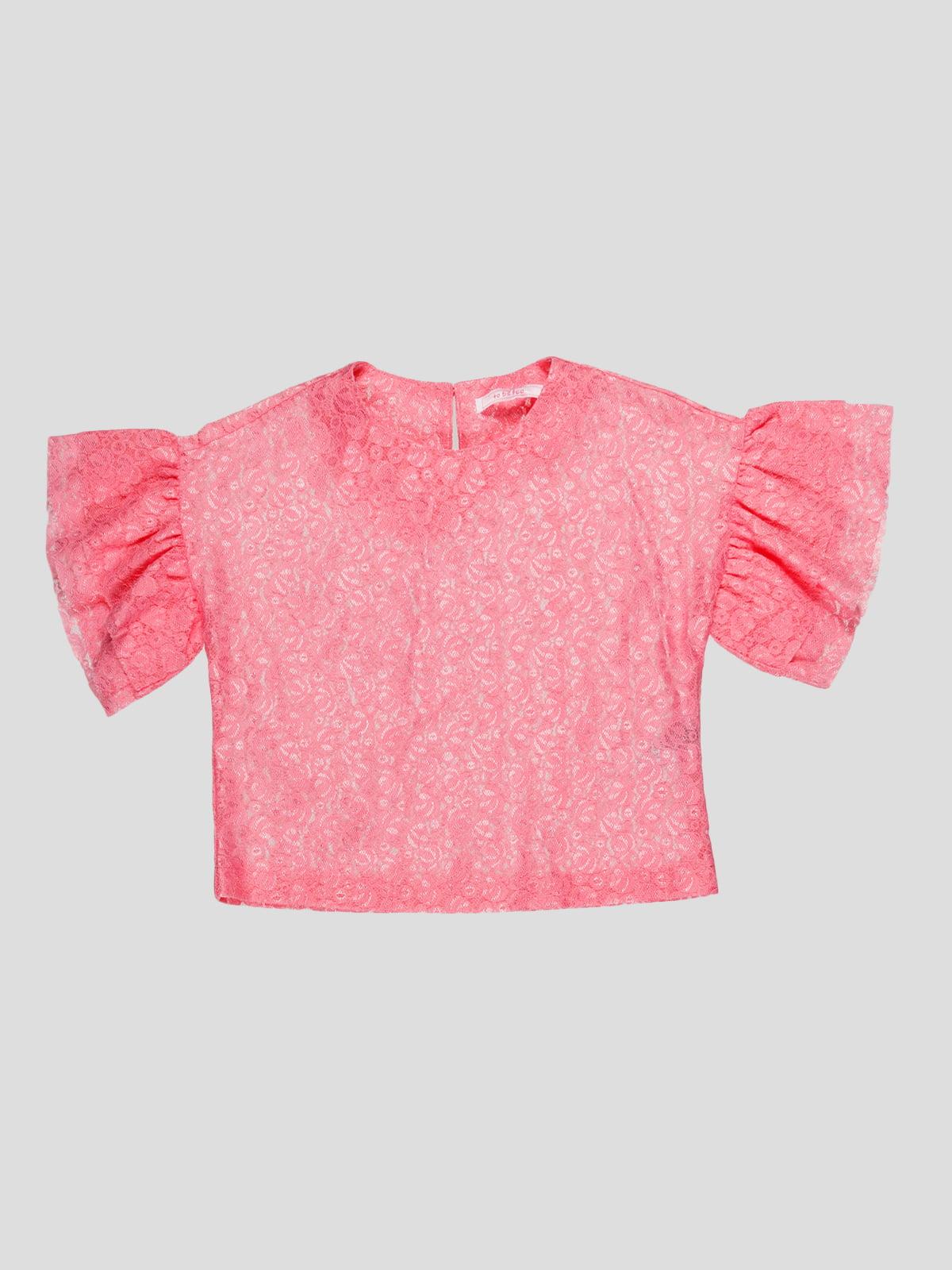Блуза рожева | 4781267
