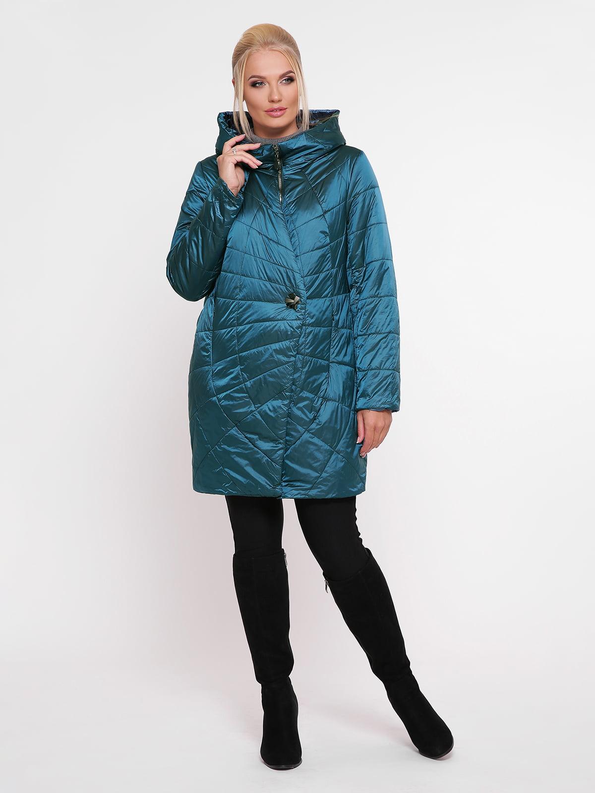 Куртка цвета морской волны | 4932327