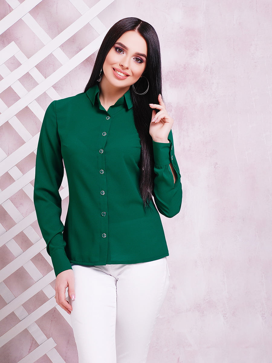Сорочка зелена | 3405556