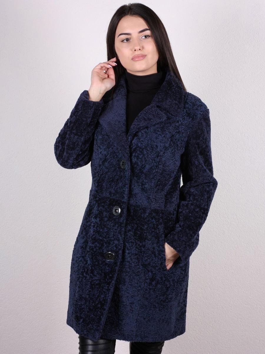 Пальто темно-синее | 4936852