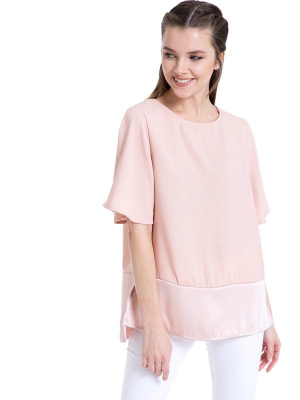 Блуза розовая   4940697