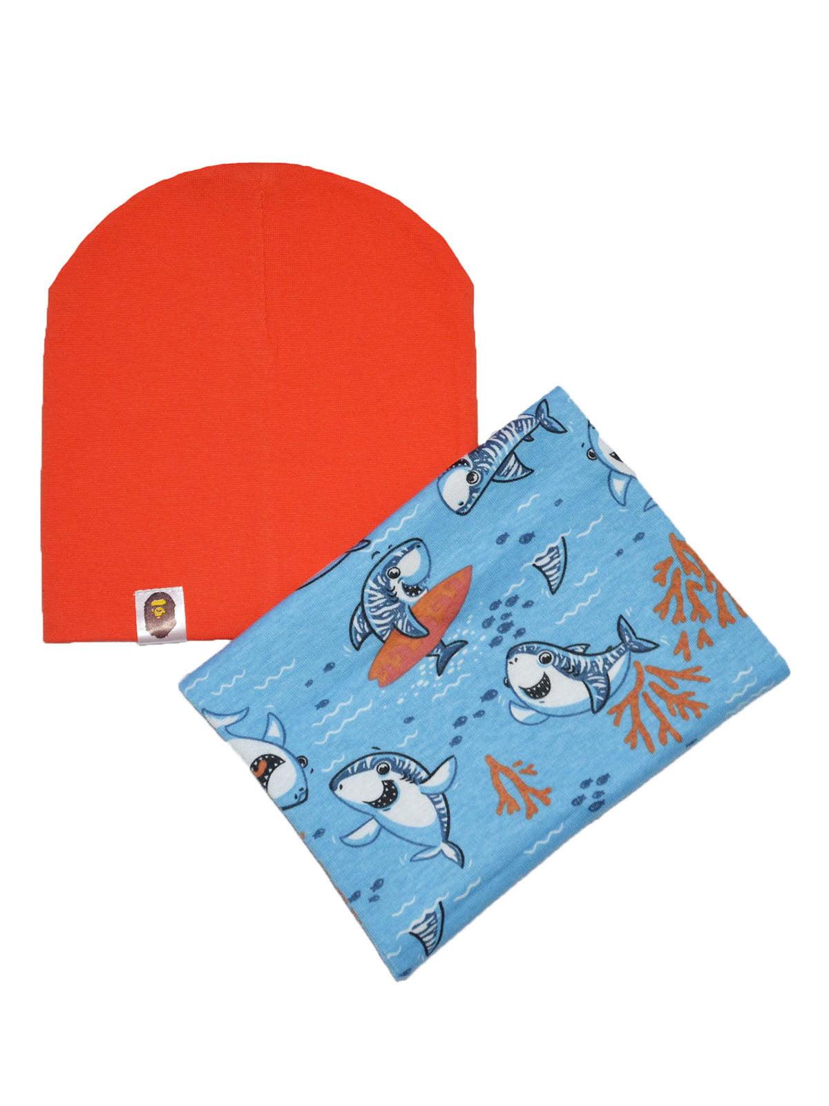 Комплект: шапка и снуд   4944223
