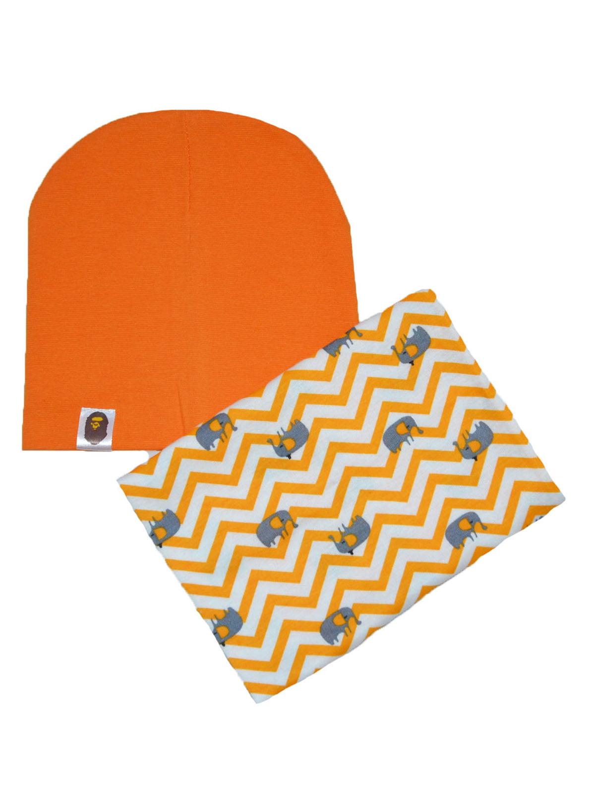 Комплект: шапка и снуд | 4944230