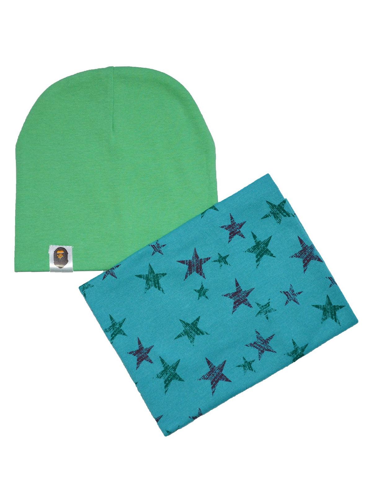 Комплект: шапка и снуд | 4944239
