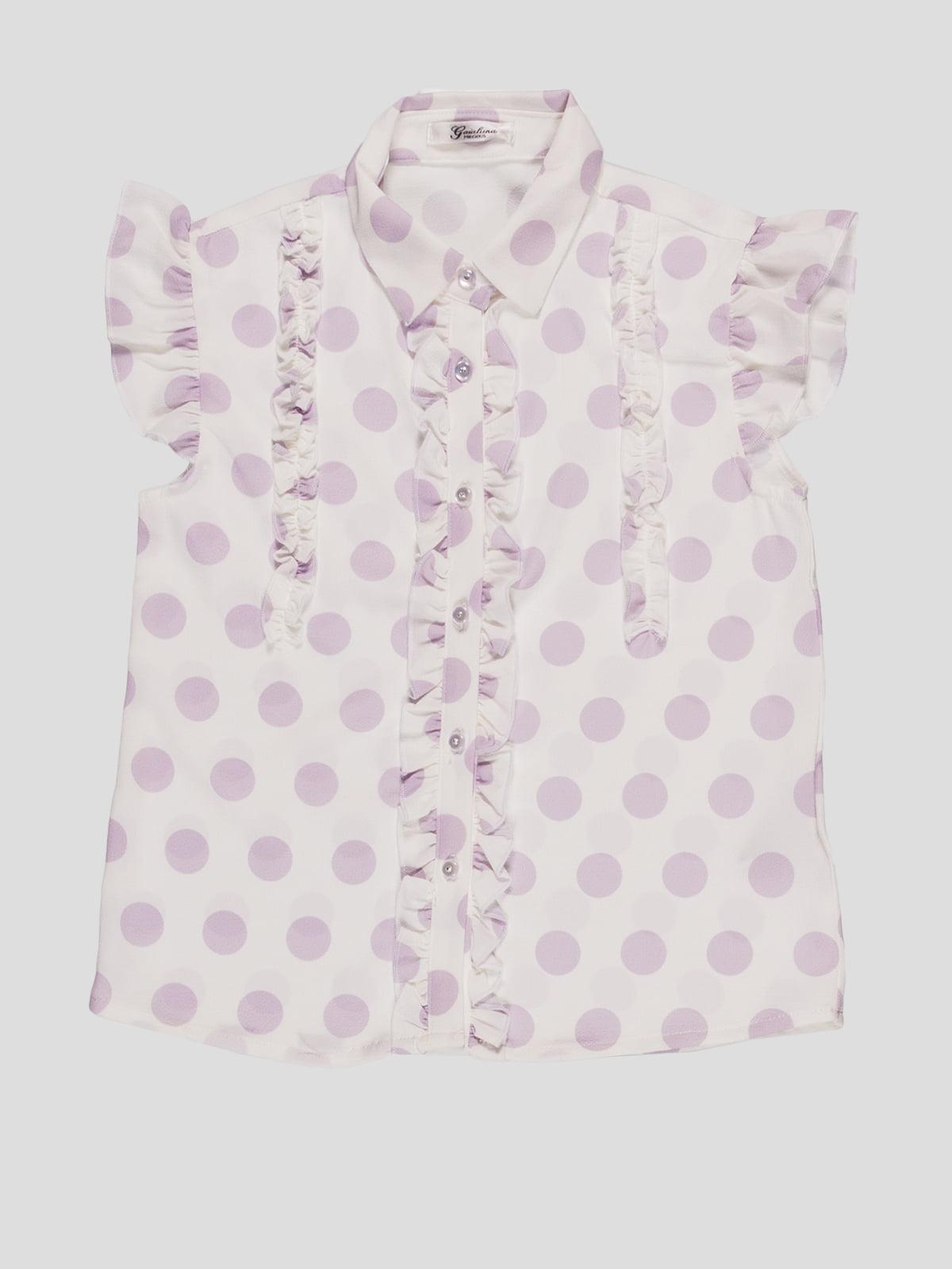 Блуза в горошок | 4781264