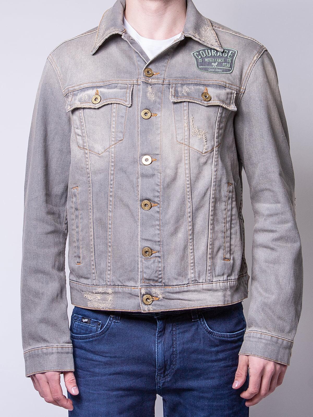 Куртка серая | 4947902