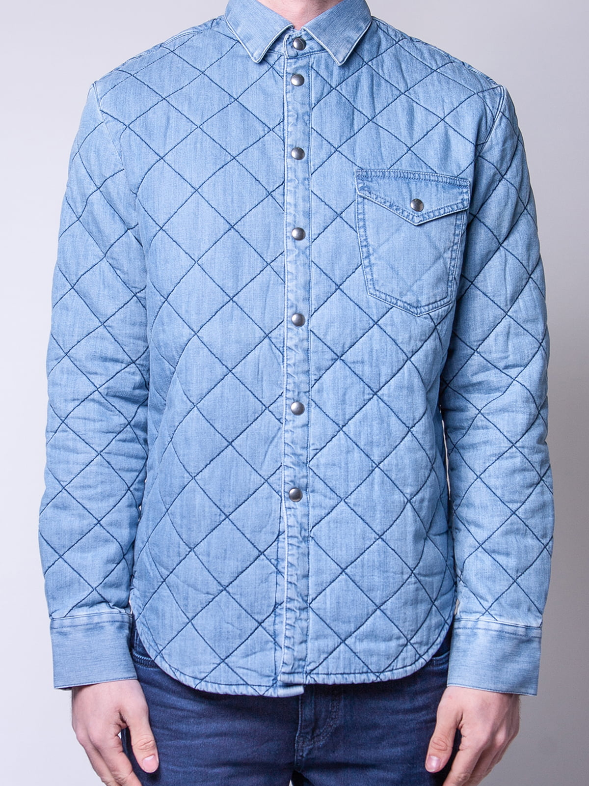 Рубашка голубая | 4947974