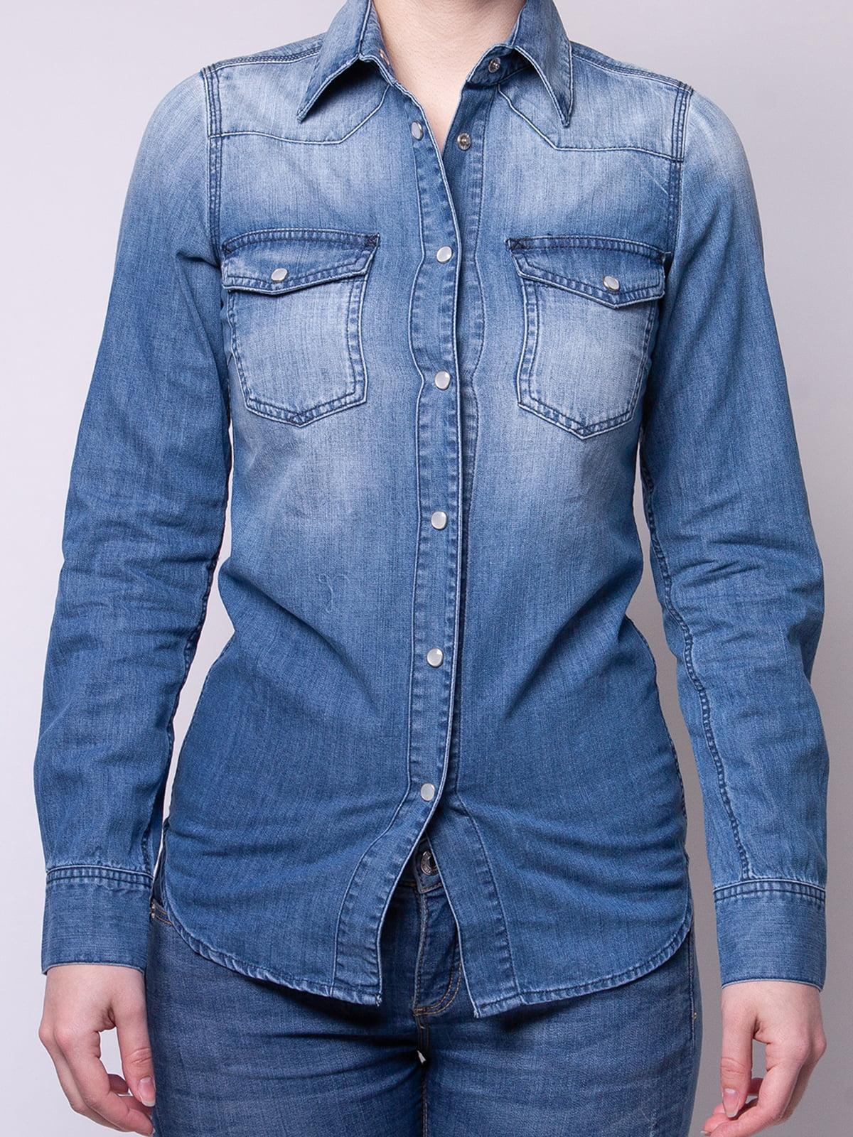 Рубашка синяя   4948001