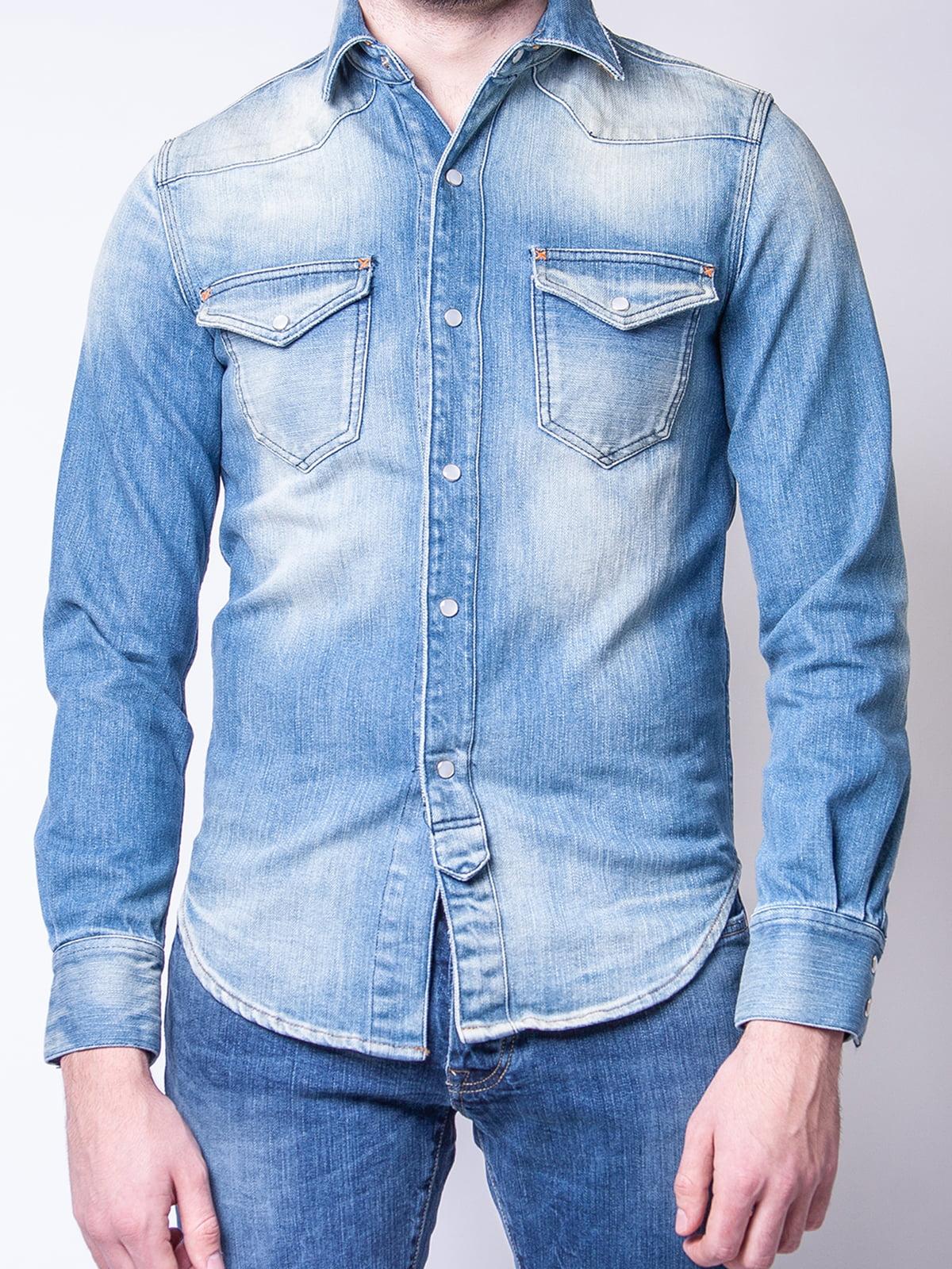 Рубашка голубая | 4948009