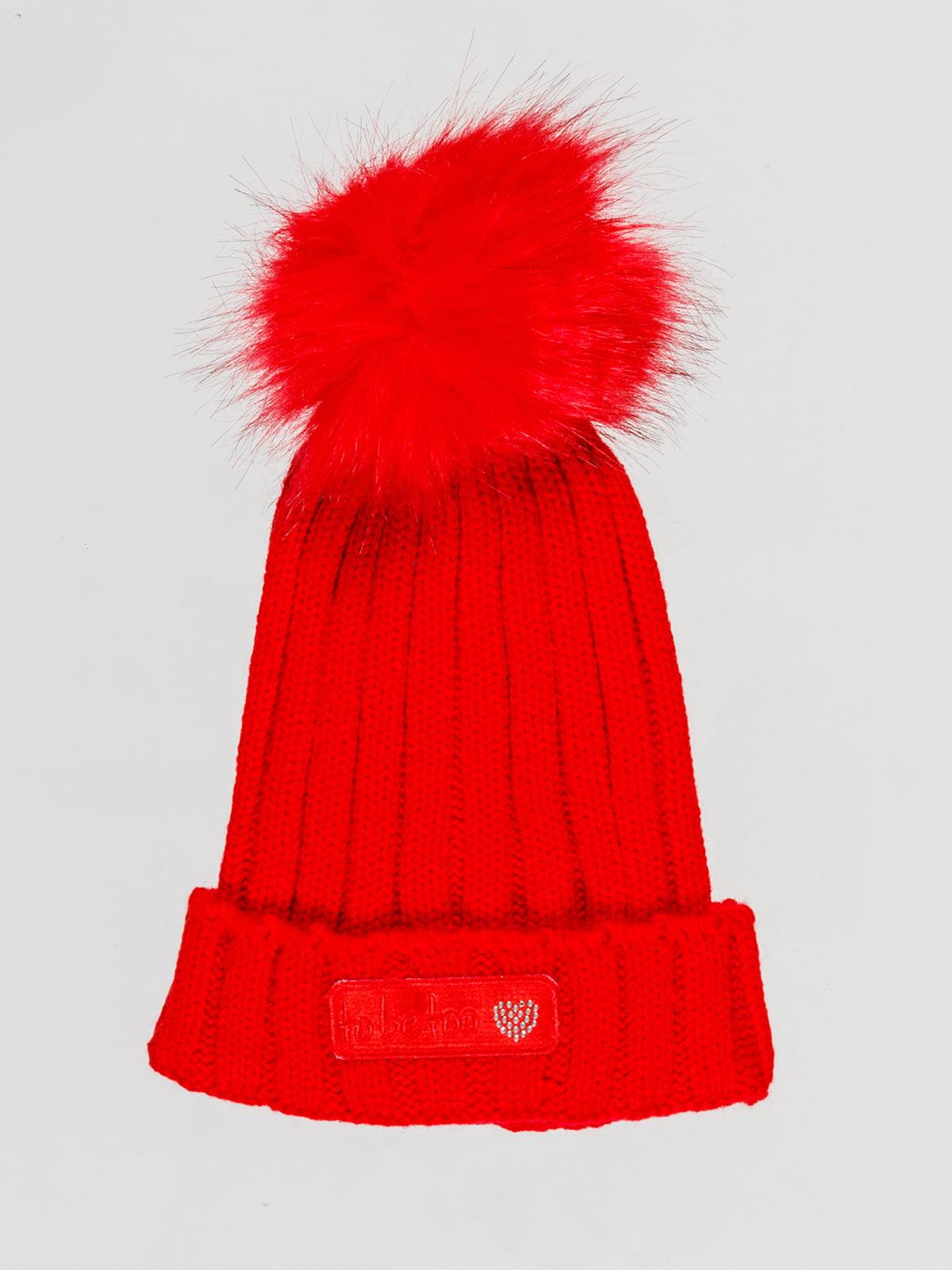 Шапка червона | 4781650