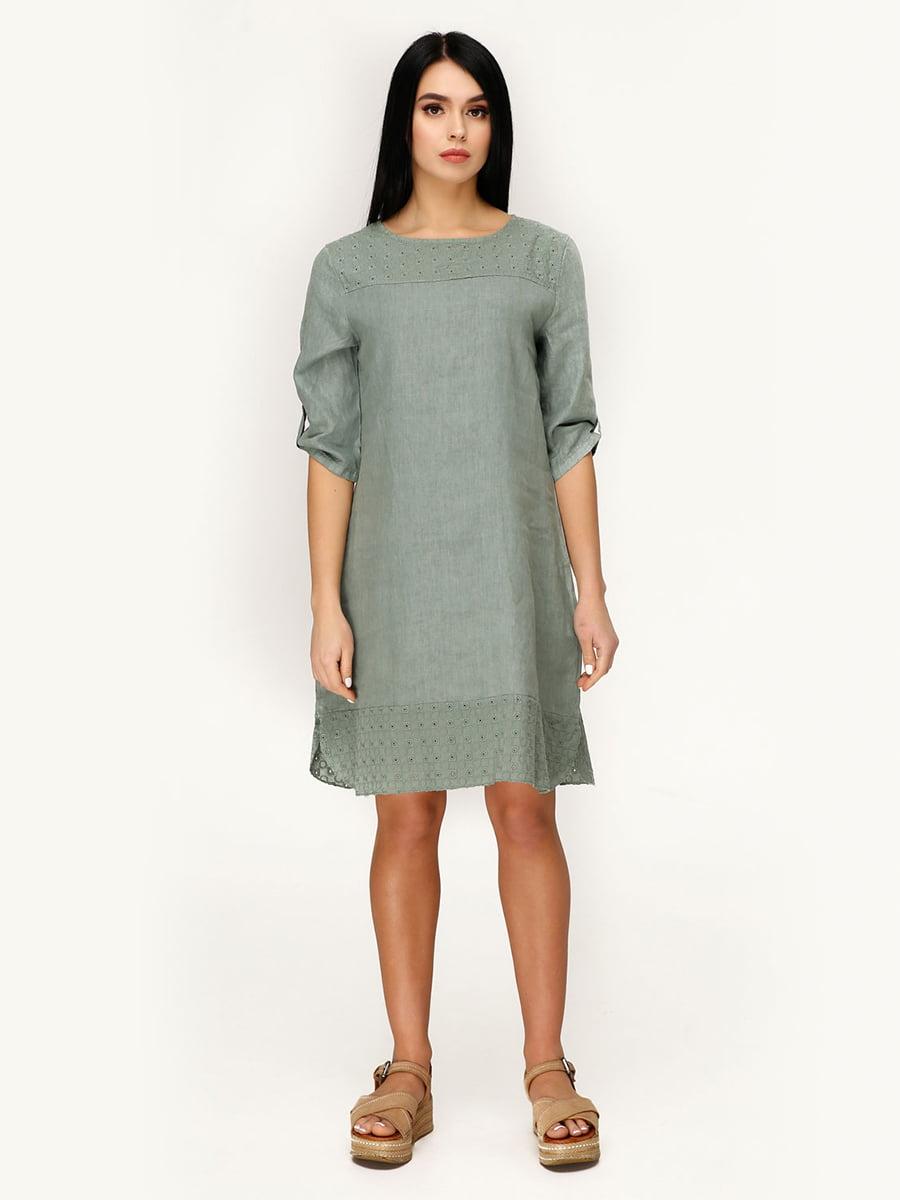 Сукня оливкового кольору   4949866